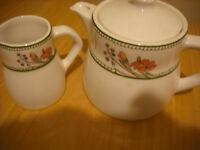 teapot and jug