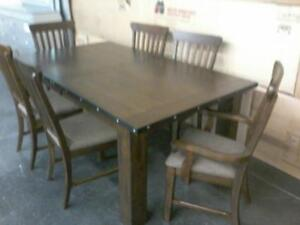New 7PC Dining Set Regular $1899 Now $1100 Taxes included