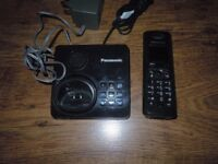 Panasonic Quad 4 Telephones with Answer Machine