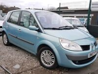 07 RENAULT SCENIC 1.6 MPV - LEATHERS - PAN ROOF - PX WELCOME
