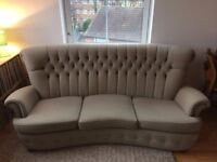 Stunning High Back Chesterfield Style 3 Seater / 4 Seater Sofa with Elegant Button Detail