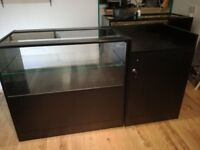 RETAIL COUNTER BLACK & TILL UNIT EXCELLENT COND