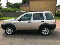 2003 LAND ROVER FREELANDER 1.8 Kalahari Station Wagon 5dr (gold) @07445775115