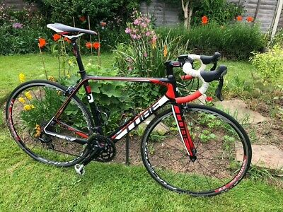 Cube Agree GTC Pro Carbon Road Bike White and Red 56 cm frame