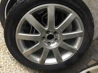 "2 x Audi 17"" Alloys Alloy Wheels"