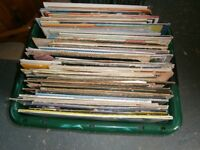 RECORDS / VINYL - LARGE BOX FULL
