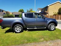 Mitsubishi L200 2.5 DI-D CR Warrior Double Cab Pickup 4WD 4dr (Leather)