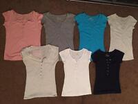 7x ladies tops / vest tops