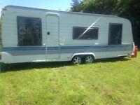Hobby caravan 2002