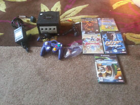 for sale ninendo gamcube and games in full working order £35