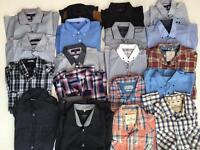 Collection of men's next, hollister, tommy, shirts