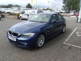 2009 59 BMW 3 SERIES 2.0 318D M SPORT BUSINESS EDITION 4D 141 BHP***GUARANTEED FINANCE***PART EX WEL