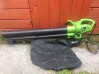 Leaf blower/vacumm/mulcher