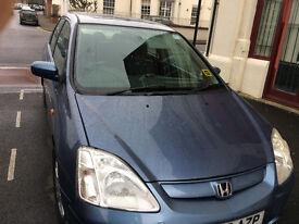 Honda civic 1.6 (NO M.O.T)