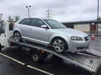Audi A3 3.2 Quattro breaking may sell complete
