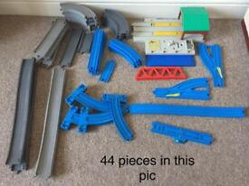 251 piece bundle of Thomas Trains, tracks etc