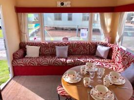 Cheap 3 bed DG & heated caravan with 2018 fees! NE63 9YD