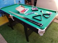6ft pool / snooker table