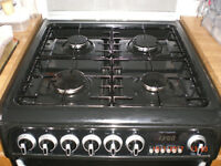 Freestanding Cannon Harrogate cooker - Gas and electric