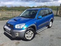 2003 53 TOYOTA RAV 4 2.0 D-4D GX *DIESEL* JEEP - ONLY 2 FORMER KEEPERS FROM NEW - *MAY 2018 M.O.T*