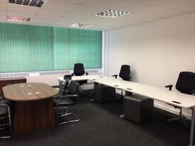Newly redecorated office space to let 1-25 people: Flexible terms from £150 pcm
