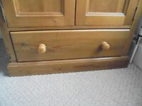 Solid Pine Cabinet (purchased Hotwell Pine Shop)