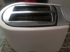 White And Silver Haden Electric Toaster