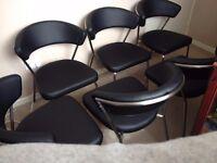 Six Marilyn chairs
