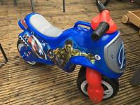 Avengers ride on kids scooter