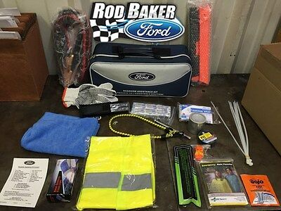 ford factory emergency roadside assistance kit safety gear transit. Cars Review. Best American Auto & Cars Review