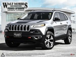 2016 Jeep Cherokee Trailhawk - LEATHER, PWR SUNROOF, HEATED SEAT