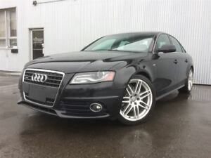 2012 Audi A4 2.0T Premium S LINE, AWD, SUNROOF, LEATHER.