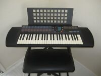 Yamaha PSR-76 Keyboard, Stand and Stool