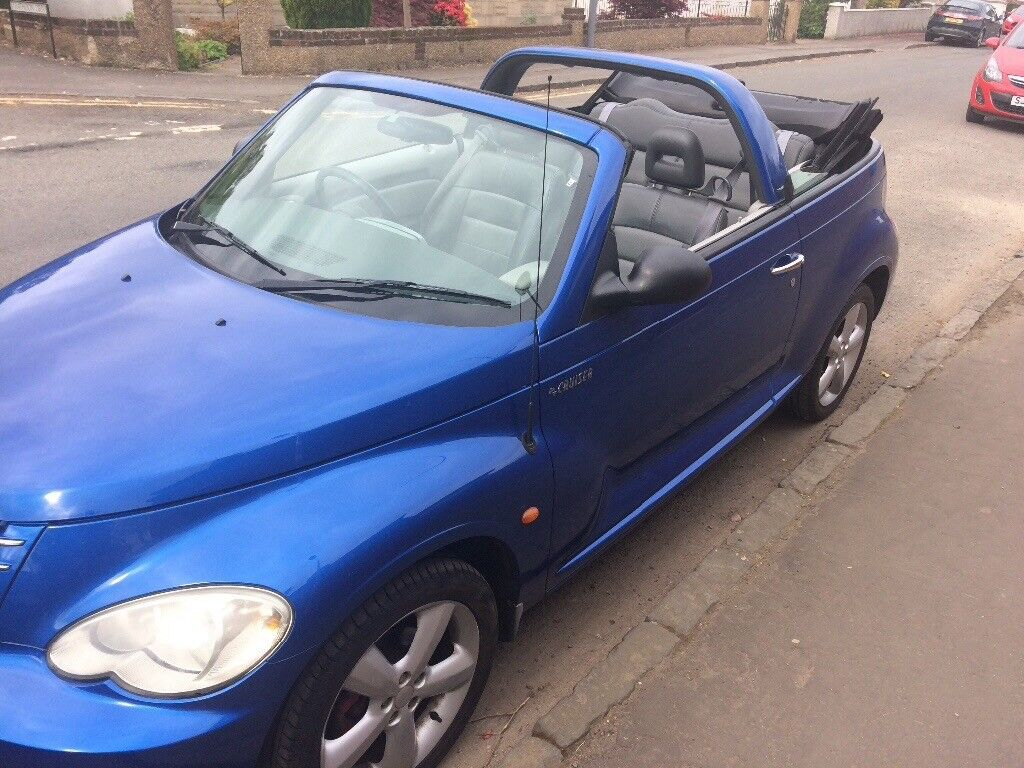 Chrysler PT cruiser convertible, Sky Blue, Limited Edition, 2.4l, MOT 28th may 2019