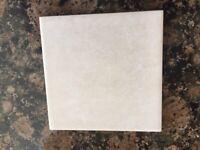 Cream Wall Tiles 3sq.m - over 300 x 9.9cm x 9.9cm tiles