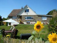Three Gables West Wight, spacious village house, sleeps 10 plus 3 small children, pet friendly.