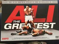 5xDVD Ali the greatest box set