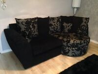 Gorgeous sofa and chair brilliant condition from a smoke and pet free home from DFS 2 years