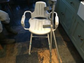 Prima Aluminium Shower chair & crutches