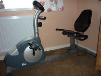 recumbent excersise bike