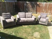 Sofa and 2 armchairs. Can deliver.