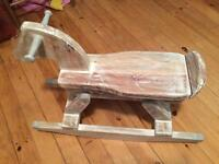 Restoration Hardware Vintage Rocking Horse