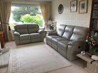 New Leather 2-Piece Suite (Unused) 5 Seater
