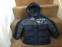 New with tag- Avengers Coat Aged 4