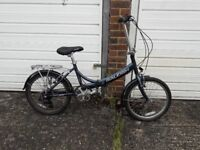 Rayleigh EVO 7SP folding bicycle