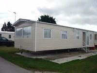 Caravan for rent Lido Beach Prestatyn September dates available