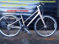 Giant Bicycle Ladies Lightweight (ridden four times ONLY)