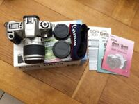 Canon EOS 300 35mm SLR Film Camera with EF 28-90 mm lens Camera Kit