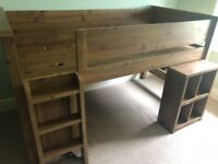 Cabin bed with desk and unit- Next Carter style