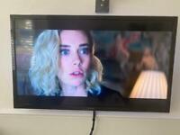 "Panasonic 50"" tv and Bose solo tv sound bar"